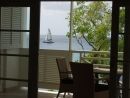 View from the terrace at 405 Waterside, holiday apartment, Barbados